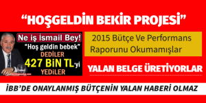 CHP KALESİ YALAN HABERLE YIKILMAZ