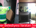 Sarıyer Belediyesi Yaraları Sarıyor