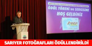 SARIYER FOTOĞRAFLARI ÖDÜLLENDİRİLDİ