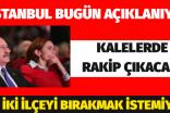 PM İSTANBUL İÇİN TOPLANIYOR