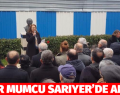 UĞUR MUMCU SARIYERDE ANILDI