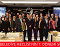SARIYER BELEDİYE MECLİSİ'NİN 7. DÖNEMİ SONA ERDİ