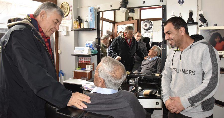 """SARIYERLİLERDEN ŞÜKRÜ GENÇ'E: """"BAŞKAN DEĞİL BABA"""""""