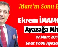 EKREM İMAMOĞLU SARIYER 'E GELİYOR