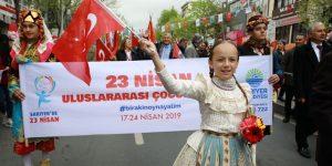 23 NİSAN'DA TÜM ÇOCUKLAR SARIYERLİ