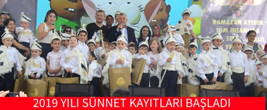 2019 YILI SÜNNET KAYITLARI BAŞLADI