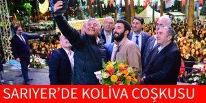 SARIYER'DE KOLİVA COŞKUSU