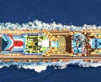 Dünyanın önde gelen cruise gemilerinde Polin Waterparks imzası
