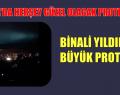 BİNALİ YILDIRIM'A BÜYÜK PROTESTO