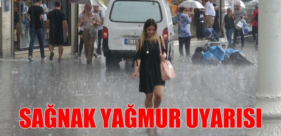 Meteoroloji Marmara'yı Uyardı