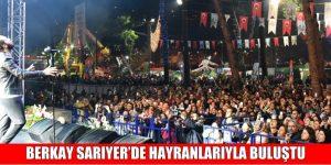 BERKAY SARIYER'DE HAYRANLARIYLA BULUŞTU