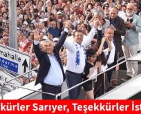 Teşekkürler Sarıyer, Teşekkürler İstanbul