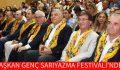 BAŞKAN GENÇ SARIYAZMA FESTİVALİ'NDE