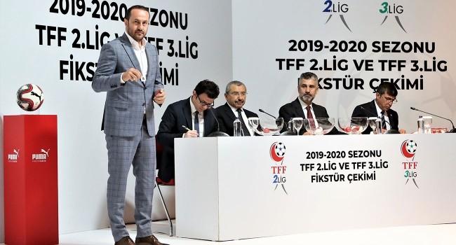 TFF 2. Lig'de 2019-2020 futbol sezonu fikstürü çekildi.