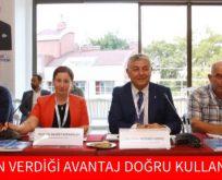 """""""DOĞANIN VERDİĞİ AVANTAJ DOĞRU KULLANILMALI"""""""