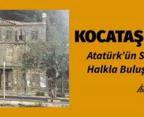 """KOCATAŞ YALISI """" Atatürk'ün Sarıyer'de Halkla Buluştuğu Yer"""