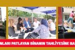 KOLONLARI PATLAYAN BİNANIN TAHLİYESİNE BAŞLANDI