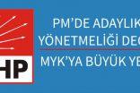CHP'DE PM YÖNETMELİK  DEĞİŞİKLİĞİ YAPILDI
