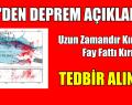 İTÜ'den önemli deprem açıklaması: Uzun zamandır kırılmayan fay hattı kırıldı, tedbir alınması gerekiyor