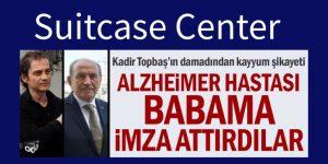 Kadir Topbaş'ın damadıdan kayyum şikayeti: Alzheimer hastası babama imza attırdılar