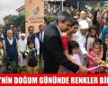 GANDHİ'NİN DOĞUM GÜNÜNDE RENKLER BİR ARADA