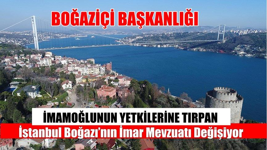 """""""İMAMOĞLU KORKUSU"""" BOĞAZİÇİ BAŞKANLIĞI KURULUYOR"""