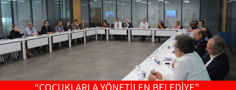 """""""ÇOCUKLARLA YÖNETİLEN BELEDİYE"""""""