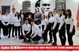 Şef Aydın Demir, SARIYER VEHBİ KOÇ VAKFI MESLEKİ VE TEKNİK ANADOLU LİSESİNDE