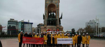 Türkiye Madenciler Derneği YKB Emiroğlu Dünya Madenciler Günü ve Bayramı'nı kutladı