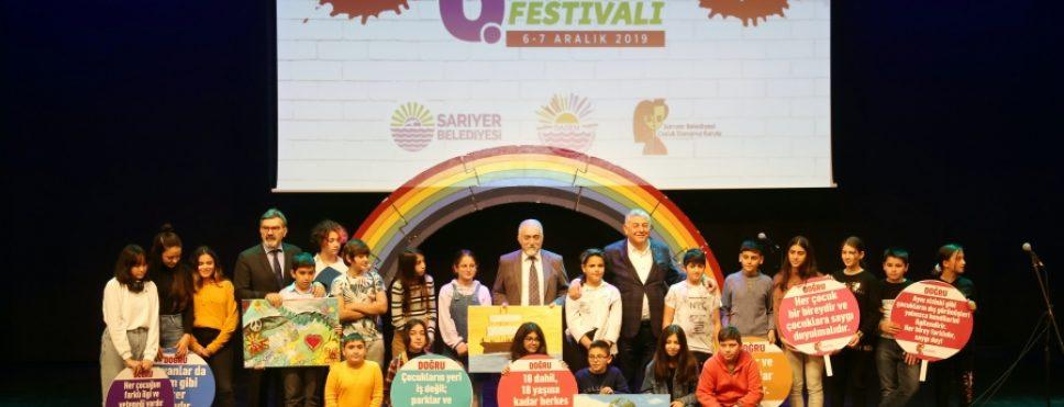 6. çocuk hakları festivali sona erdi
