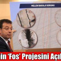 """""""BARAJ ÇATLADI"""" Ekrem İmamoğlu AKP'nin 'Fos' Projesini Açıkladı"""