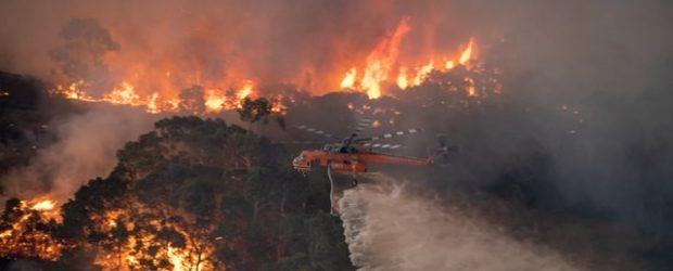 Avustralya Yangınları Yıllık Karbondioksit Yoğunluğunu Artırabilir