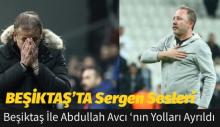 Beşiktaş İle Abdullah Avcı'nın Yolları Ayrıldı