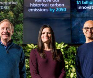 "Microsoft 2030'da ""Karbon Negatif"" Olacak"