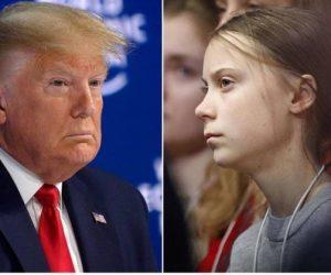 Greta'dan Trump'a: Alevleri körükleyen sizin eylemsizliğiniz