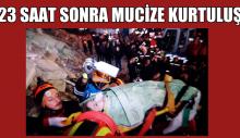 Elazığ'da Mucize Kurtuluş, 5 yaşındaki çocuk kurtarıldı