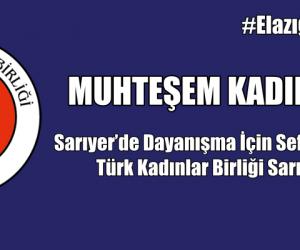 Sarıyer'de Dayanışma İçin Seferberlik, Türk Kadınlar Birliği Sarıyer