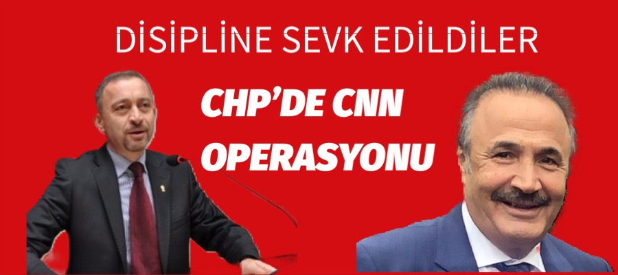 CHP' li Ümit Kocasakal ve Mehmet Sevigen Disipline Sevk Edildi