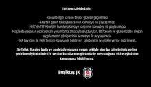 Beşiktaş Kulübü TFF'den taleplerini bildirdi