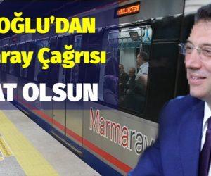 İMAMOĞLU Marmara çağrısı yaptı