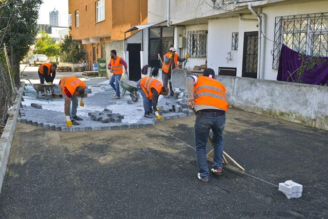 Maltepe'de yenileme çalışmaları aralıksız sürüyor