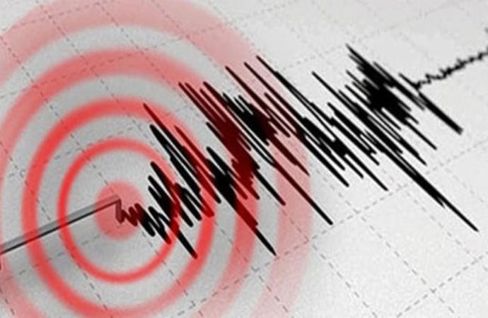 Akdeniz'de, Muğla'nın Marmaris ilçesinde deprem