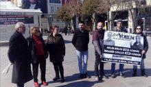 Grup Yorum Destek eylemi 5 Gözaltı
