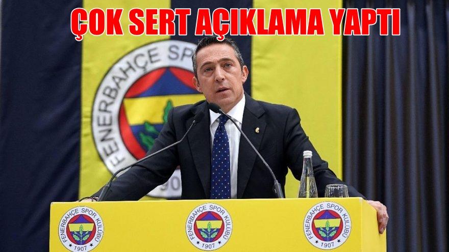 """Ali Koç, çok sert açıklama """"Konuşmaya hazırım"""""""