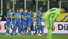 Fener Ankara da mağlup. MKE Ankaragücü 2-1 Fenerbahçe