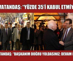 """VATANDAŞ: """"YÜZDE 35'İ KABUL ETMİYORUZ"""""""