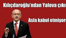 KIlıçdaroğlu'ndan Vefa Salman Çıkışı: Asla Kabul Etmiyoruz