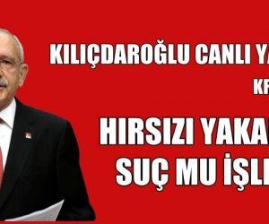 HIRSIZI YAKALDIK SUÇ MU İŞLEDİK.