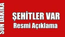 İDLİB'DE ŞEHİTLER VAR