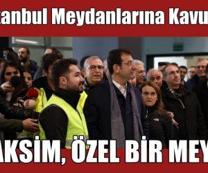"""İmamoğlu'ndan Kahraman'a """"Gezi"""" desteği"""